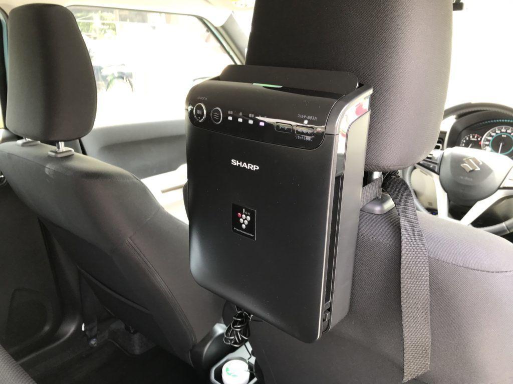 車用空気清浄機IG-HCF15のレビュー